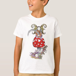 Fairy on Mushroom T-Shirt
