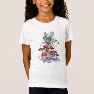Fairy on Mushrooms T-Shirt