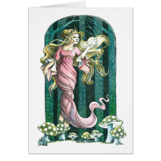 Fairy Orb Greeting Card