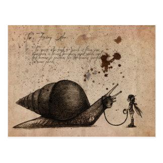 Fairy Ostler Postcard