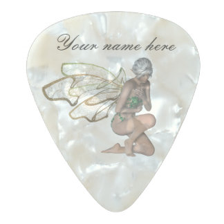 Fairy Pearl Celluloid Guitar Pick