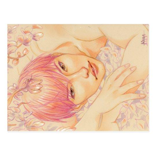 Fairy pink Hyukjae- Postcard