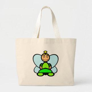 Fairy (plain) jumbo tote bag