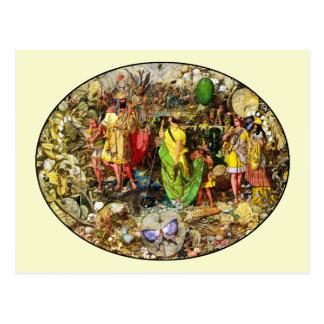 Fairy Postcard Fairy Painting by Richard Dadd