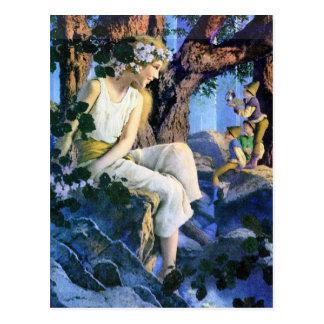 Fairy Princess and the Gnomes Postcard