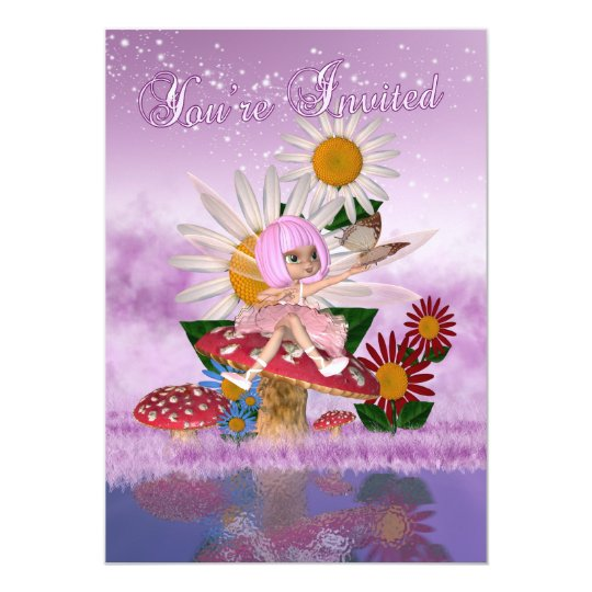 Fairy Princess Birthday Party - Fairy Party Invite