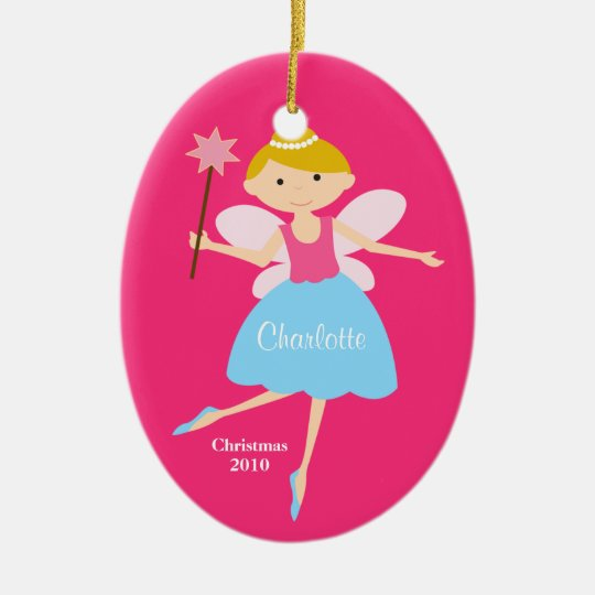 Fairy Princess Christmas Ornament