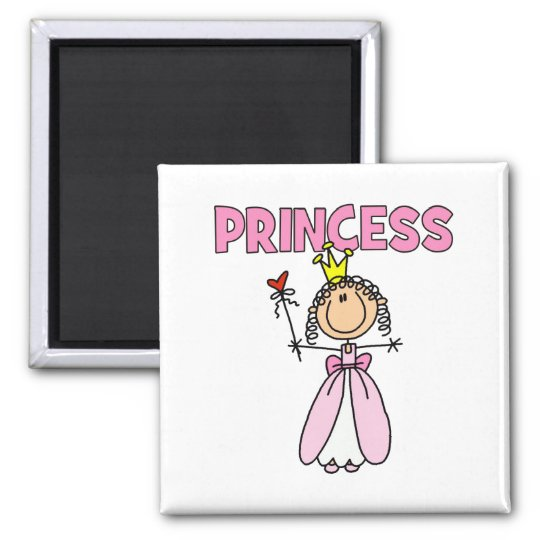Fairy Princess Gift Square Magnet