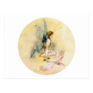 Fairy Princess Is Dressed By Pixies Postcards