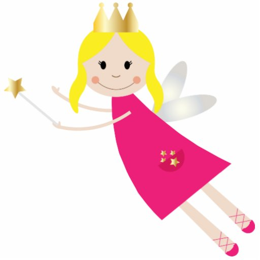 Fairy Princess Wish sculpture, gift idea Photo Cut Outs