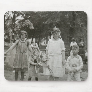 Fairy Princesses (and little brothers) Mouse Pad