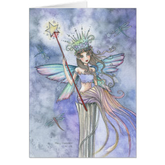 Fairy Queen Blank Card by Molly Harrison