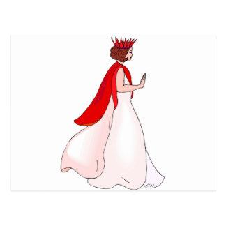 fairy queen postcards