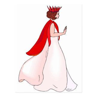 fairy queen postcard