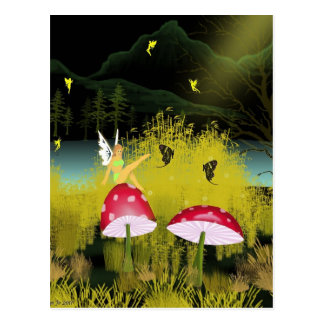Fairy Queen Post Cards