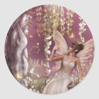 Fairy Queen Round Sticker