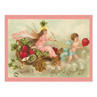 Fairy Queen Valentine Postcard