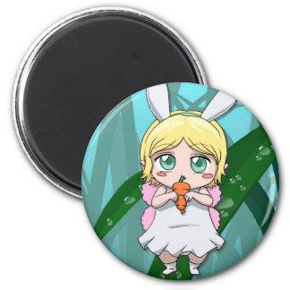 Fairy Rabbit girl Magnet