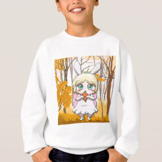 Fairy Rabbit girl Sweatshirt