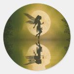 Fairy Reflect Round Stickers