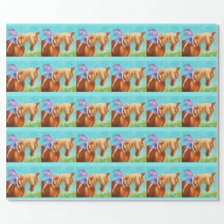 Fairy Rider, Horse Wrapping Paper