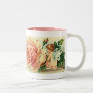 Fairy rose mug