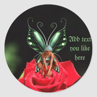 Fairy rose stickers