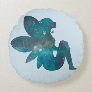 Fairy Round Throw Pillow
