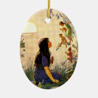 Fairy Secrets Vintage Ornament