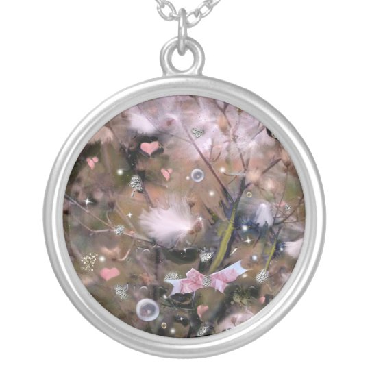 Fairy Seeds! Silver Plated Necklace