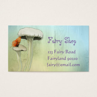 Fairy Shop fairy products new age Business Card
