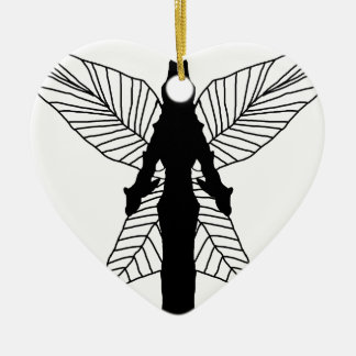Fairy Silhouette Christmas Ornament