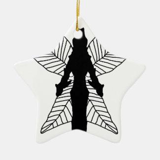 Fairy Silhouette Christmas Ornament