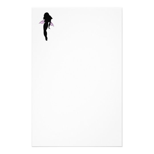 Fairy Silhouette Stationery