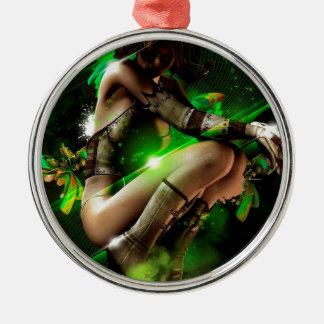 fairy Silver-Colored round decoration