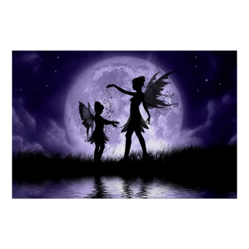 Fairy Sisters Large Poster
