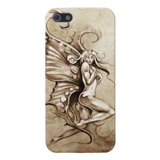 Fairy Sketch Design iPhone 5 Covers