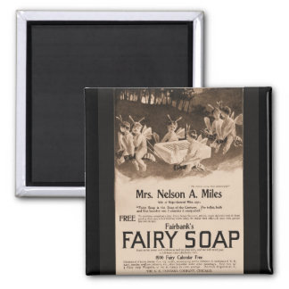Fairy Soap Square Magnet