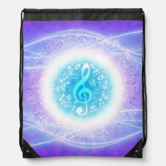 Fairy Song Drawstring Bag