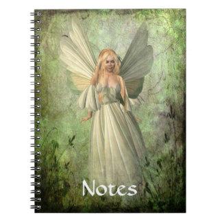 Fairy Spiral Note Book