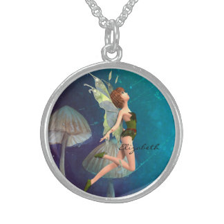 Fairy Sterling Silver Necklace