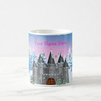 fairy-tail castle Winter Coffee Mug