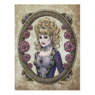 "Fairy Tale ""Beauty"" Fantasy Art Postcard #1"