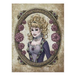 """Fairy Tale """"Beauty"""" Fantasy Art Postcard #1"""