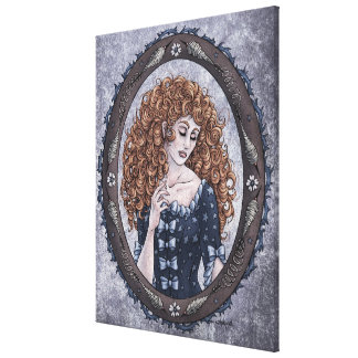"Fairy Tale ""Briar Rose"" Fantasy Art Canvas Print"