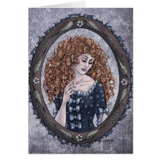 Fairy Tale Briar Rose Fantasy Art Card 1