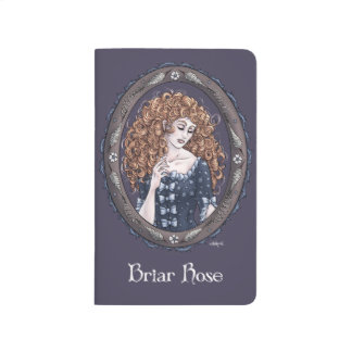 "Fairy Tale ""Briar Rose"" Mini Pocket Journal"