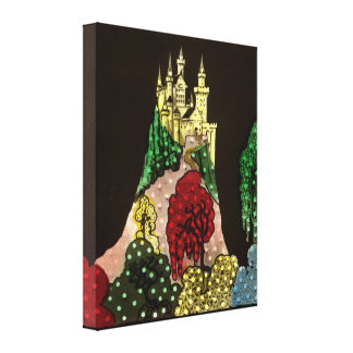 Fairy Tale Castle Canvas