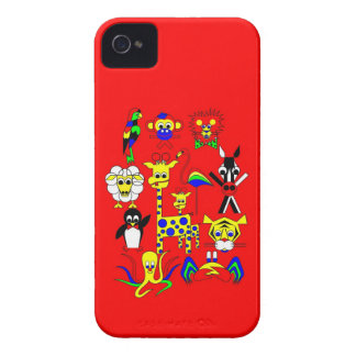 Fairy Tale Characters for a company iPhone 4 Case-Mate Case