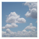 Fairy Tale Clouds Poster